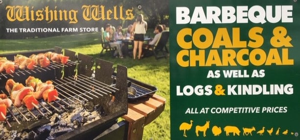 Wishing Wells Farm - Barbeque Coals and Charcoal for sale Sussex