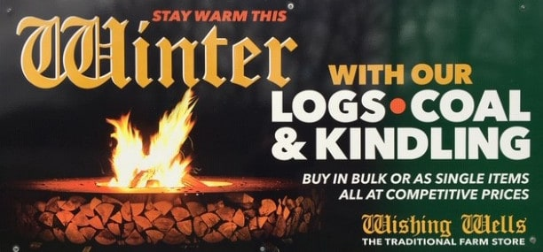 Wishing Wells Farm - Logs Coal and Kindling for sale Sussex