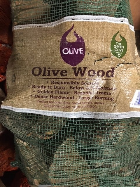 Wishing Wells Farm - Olive Firewood for Sale Sussex