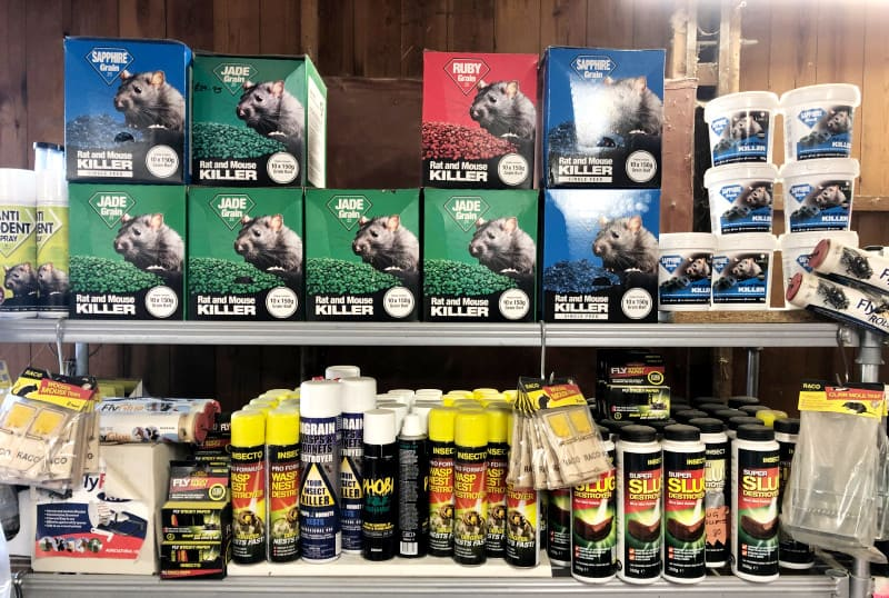 Wishing Wells Farm Rodent and Insect Baits in Store