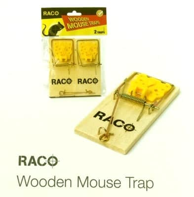 Wishing Wells Farm Wooden Mouse Trap