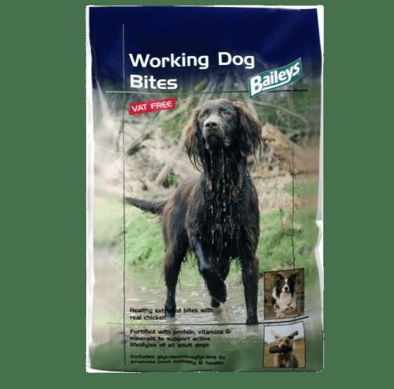 Wishing Wells Farm Working Dog Bites Food