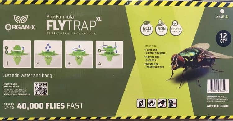 Organ-X Fly Trap New in a fabulously effective Fly Trap